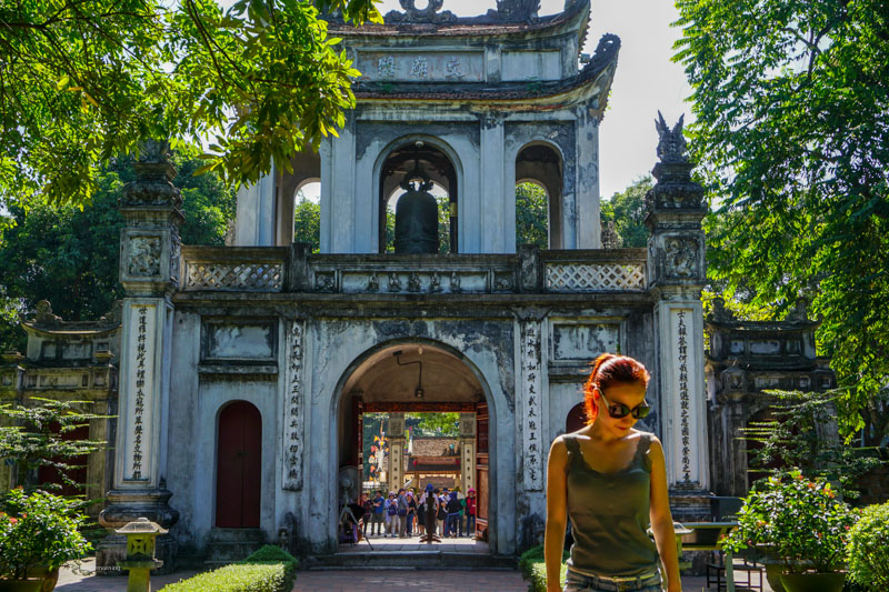 Fani on a walking tour of Hanoi Vietnam | Buy My Morning