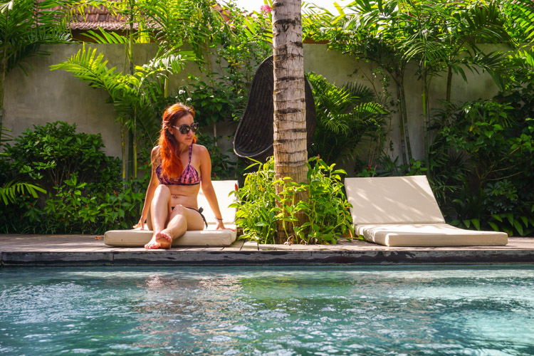 Relaxing in Bali in a private villa, on a budget how? | BuyMyMorning travel