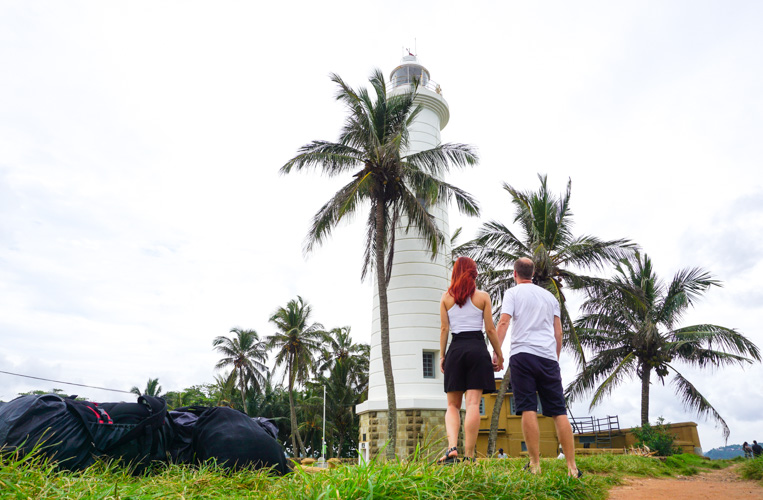 Our attempt at a photoshoot in Galle Fort Sri Lanka | Buy My Morning | Sri Lanka 8 day adventure itinerary